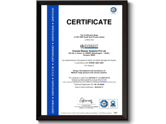 Everest Blower Systems Pvt. Ltd. - Energy Dais | Oil and Gas Directory