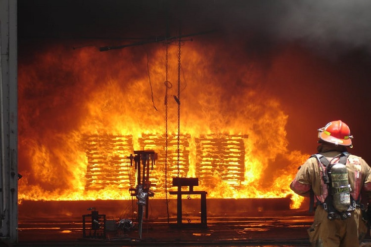 Fire at BPCL refinery
