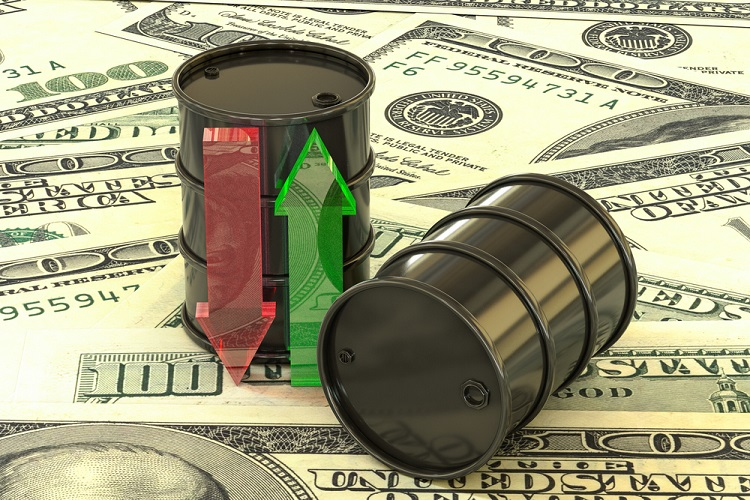 Oil prices climb up