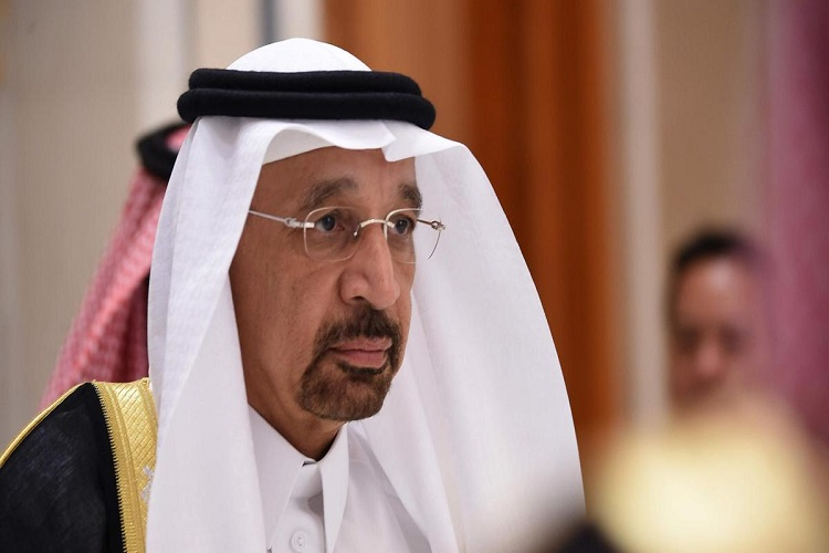 """We are determined to stabilise the global oil supply market, "" says Khalid Al Falih"