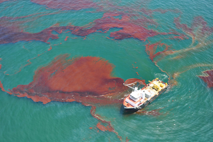 MODEC reports of oil spill