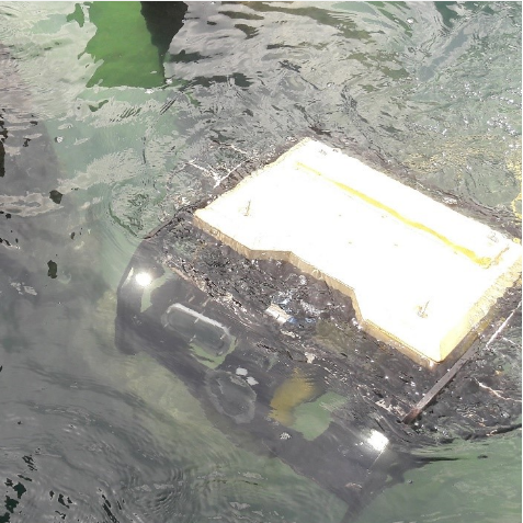 Underwater inspection with the Bots-2